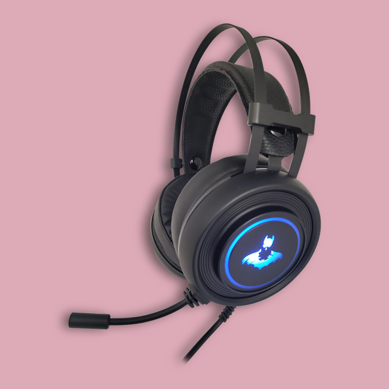 High Quality LED Lighting Wired 3.0 USB Gaming Headphones