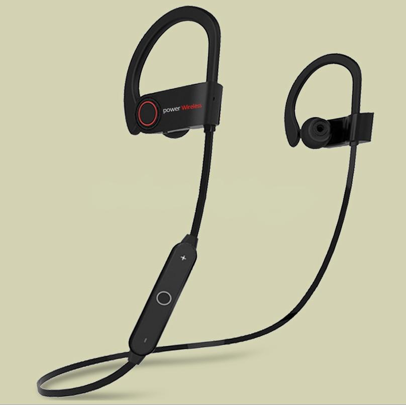 hot sale earphone sport bluetooth wireless earphone & earbud in ear with mic