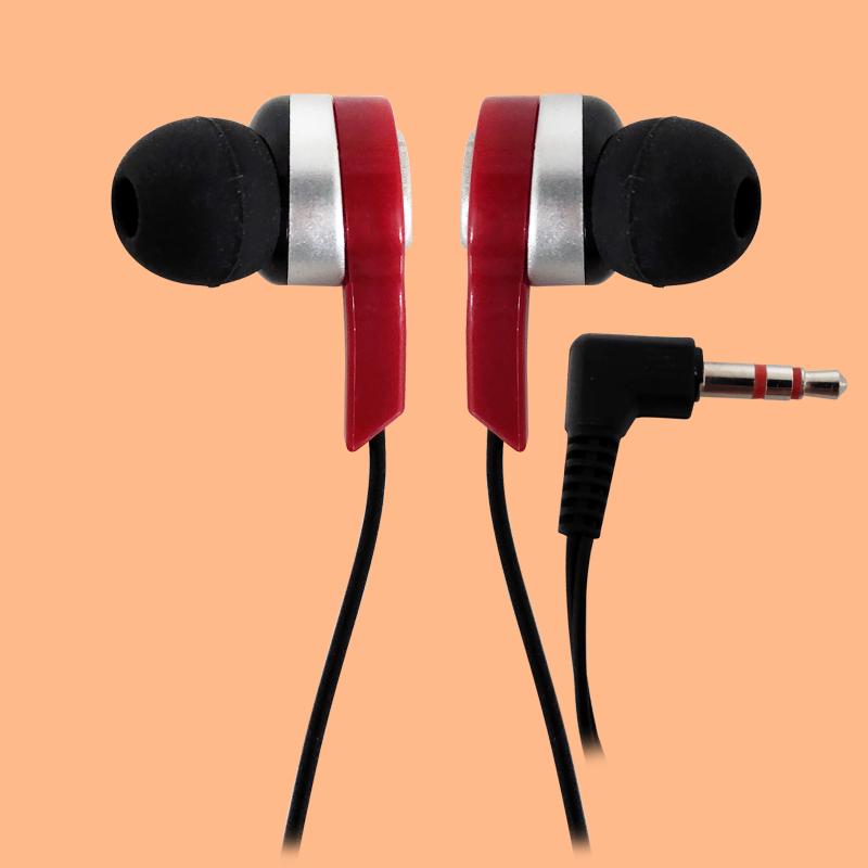 Color headphones wired headphones and headphones subwoofer earbuds airline bus headphones