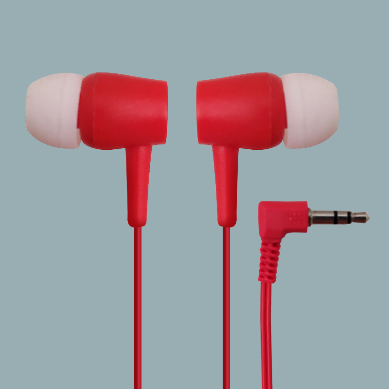 Airline Cheap One-Time Travel Wired Earbuds Promo for Tour Bus