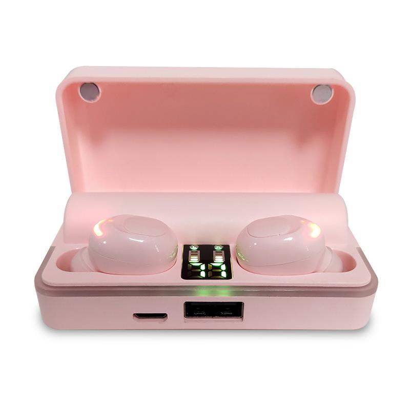 Tws bluetooth earphones with IPX 5 waterproof