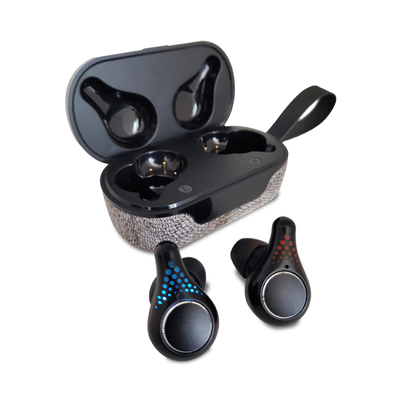High quality Flowkin wireless earbuds tws + headphones with power display 5.0