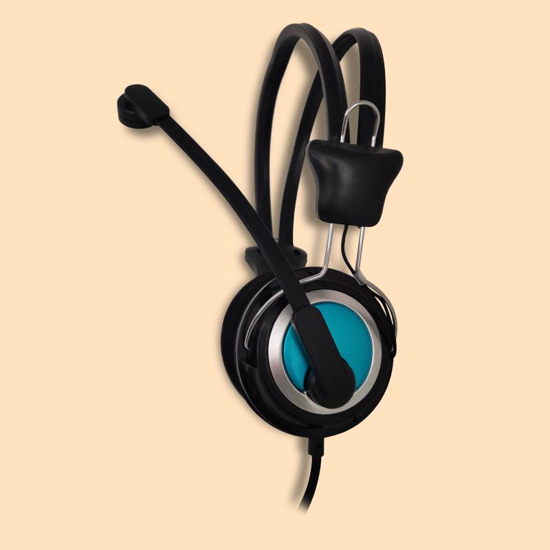 Wired supermarket headset