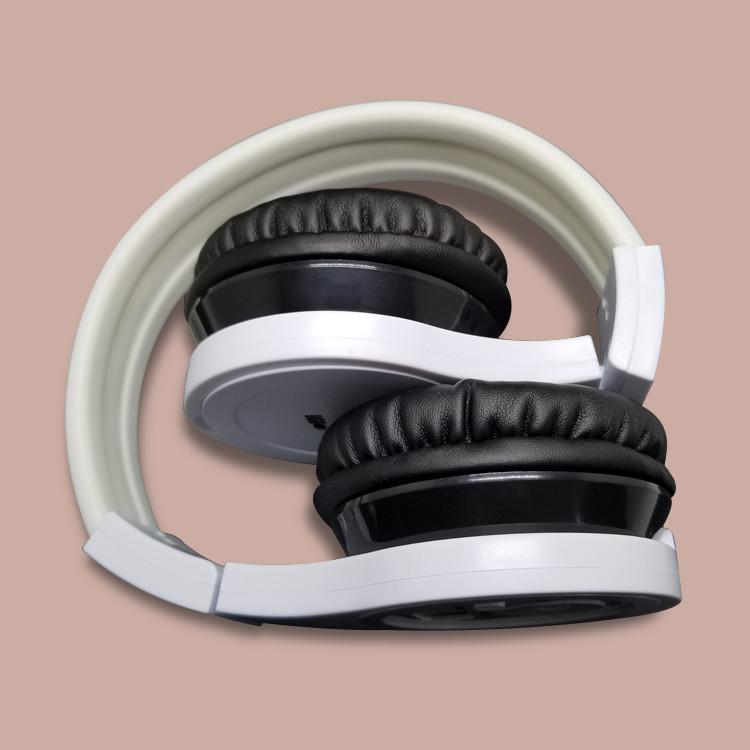 Bluetooth adjustable music FM radio headset with receiver